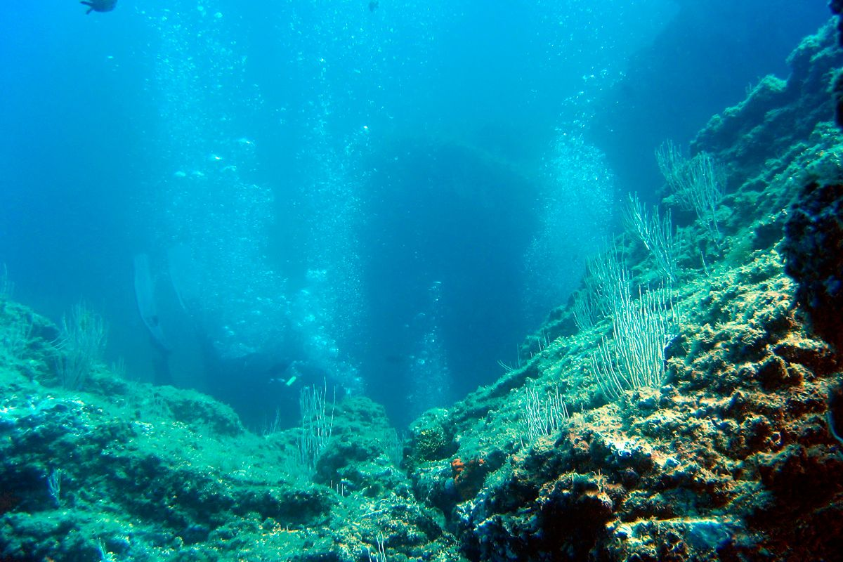 Diving a Ischia