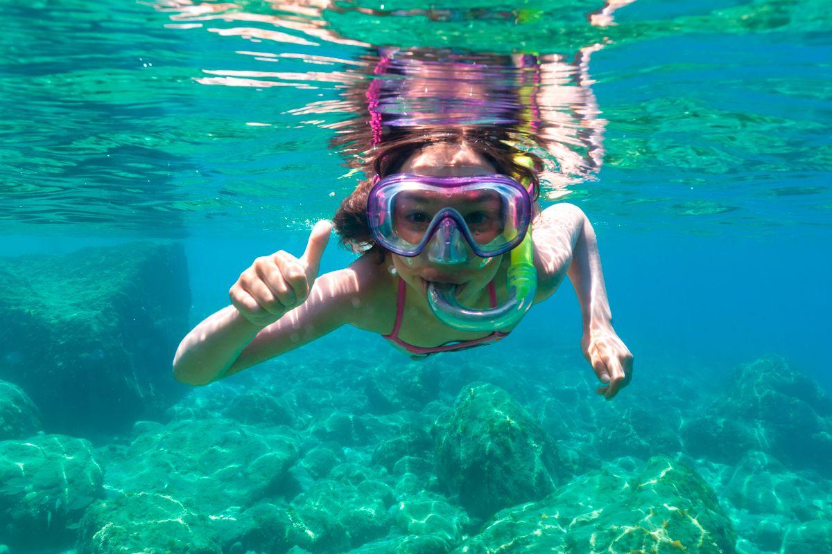 Snorkeling a Ischia
